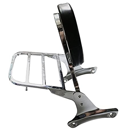 Alpha Rider Rear Luggage Rack Backrest Support Cargo Shelf For