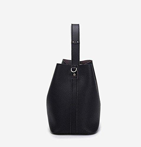 Shoulder Handbag MYLL Modo Delle Signore Della Benna Borsa Diagonale Pacchetto Black
