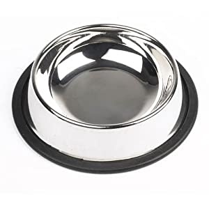 Mayfield Stainless Steel Cat Bowl Non Tip 11cm