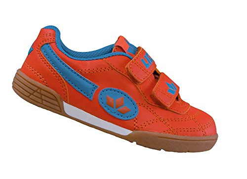 Lico Bernie V Kids Orange Gr. 30 Klettverschluss Schule Sport Kinderschuh Hallen (Kids Orange Schuhe)