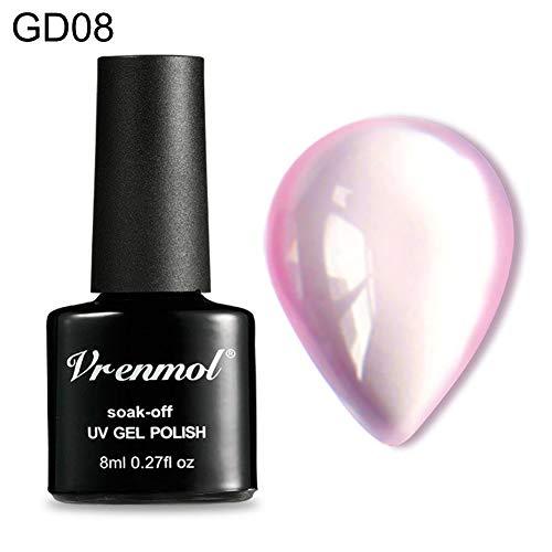Vernis à ongles gel UV LED base semi permanent dégradé de couleur