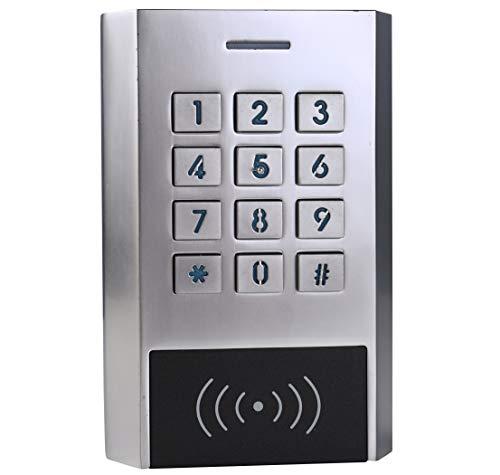 SDPAWA 12~28 V AC/DC Wasserdichter Outdoor Metall Digital Access Control Tastatur Standalone Controller für 125 kHz EM & HID Karte unterstützt 1000 Benutzer - Hid Access Control