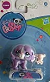 Littlest Pet Shop, LPS 2405, lila Hund