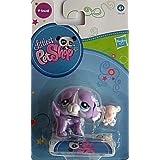 Littlest Pet Shop, LPS 2405, perro púrpura