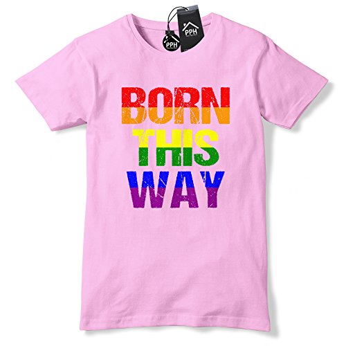 Born This Way Gay Pride T Shirt