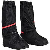 HSEAMALL Zapatos a Prueba de Agua Cubierta,Cubierta del Zapato Impermeable,Cubrecalzado Impermeable Moto Botas, Fundas de Lluvia para Zapatos (40/41 EU)