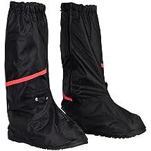 7641b0c974ad7 HSeaMall Zapatos a Prueba de Agua Cubierta Reutilizable Botas Cubierta  Antideslizante Cremalleras Oversize Talla
