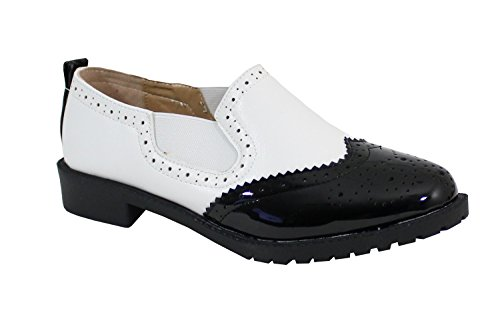 By Shoes Scarpe Stringate Basse Donna Nero