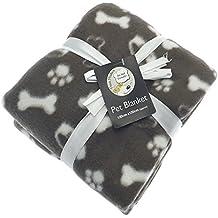 divan Pooch Products. Pooch Products - Manta polar para mascotas (120 x 120 cm), diseño de chocolate