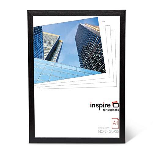 Hampton Frames Oxford Calidad Negro Madera a1 59x89