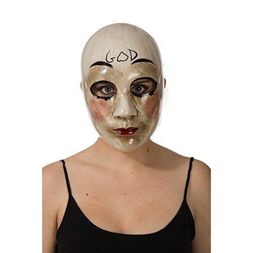 My Other Me Me-204576 Máscara la purga, Talla única (Viving Costumes 204576)
