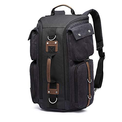 Didofi Hochwertige Leinwand Handtasche Outdoor-Reiserucksack Mehrere Funktionstaschen Antikorrosion Hardware Rucksack - Mount Hardware