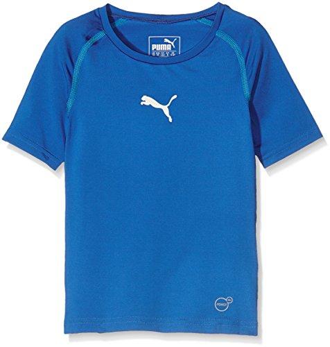 Puma Kinder T-Shirt TB Jr Short Sleeve Tee, Royal, 152, 654864 02