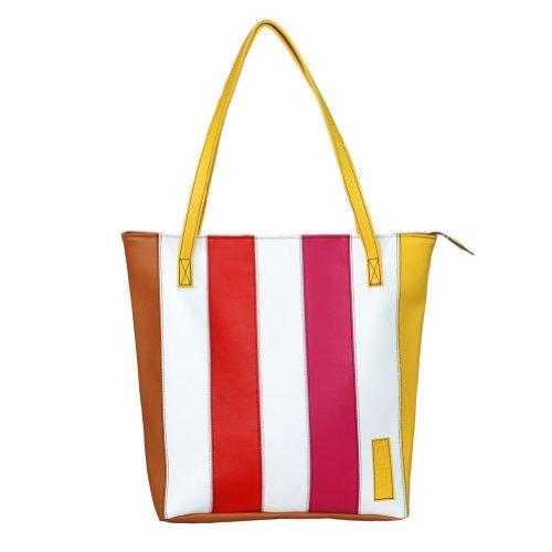 [Cherry Brandy] Onitiva en similicuir Poignée double sacoche sac à main sac à main
