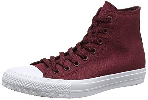 Converse Ct Ii Hi, Sneakers Homme Rouge (Deep Bordeaux/white/navy)