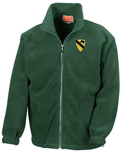 Insignia Embroidered Logo - Full Zip Fleece By Military online (Vietnam-veteran-fleece-jacke)