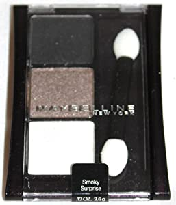 Maybelline Expertwear Eye Shadow Trio - Smokey Surprise