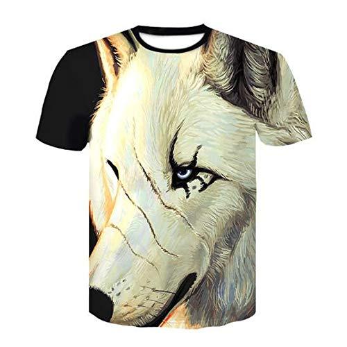 Sommer Kurzarm T-Shirts Top T Bluse Beiläufige Dünne Sport T-Shirt Männer Jungen T-Shirt Top,3D Digitaldruck - A4 weiß M - Armee Union Der Mantel