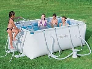 Piscine hors-sol tub STEEL PRO DIAMOND 2,87 x 2,01 x 1m Bestway 56249