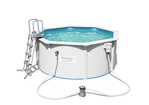 Bestway Best Way - Piscina Desmontable de Acero hydrium 300x120 cm + d