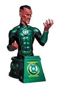 DC Sammlerstücke Tiefschwarze Nacht voller Sinestro als Green Lantern Brustumfang