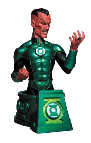 DC Sammlerstücke Tiefschwarze Nacht voller Sinestro als Green Lantern Brustumfang Hal Jordan Büste