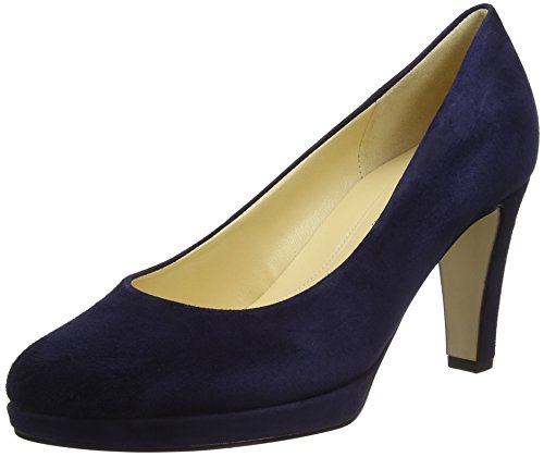 Gabor Shoes Damen Fashion Pumps, Blau (Bluette (Natur)), 40 EU