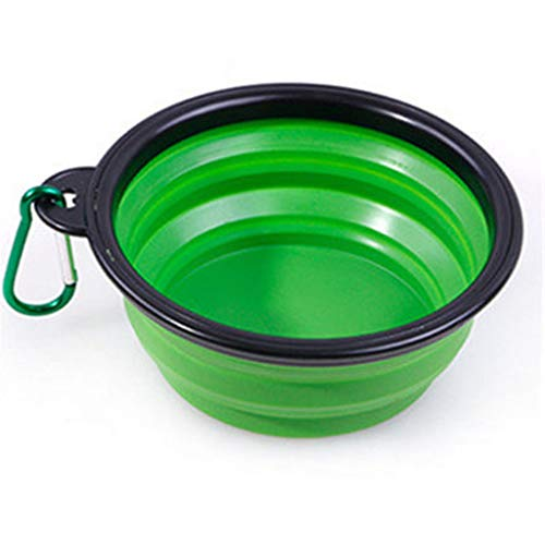 LXYU Pet Bowl Silikon FaltschüSsel Portable HundeschüSsel Cat Bowl Heimtierbedarf -