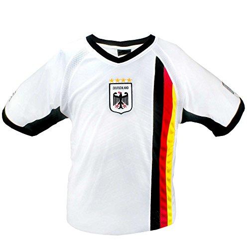 MC-Trend Alemania Alemania Camiseta Blanco con Malla De Unisex, XX-Large