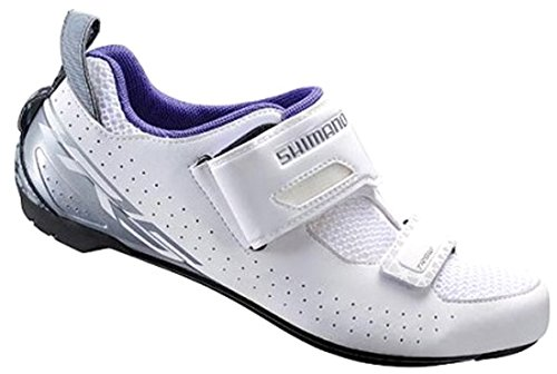 Shimano SHTR5OC440SW00, Road Cycling Shoes For Men, White (White), 44 EU