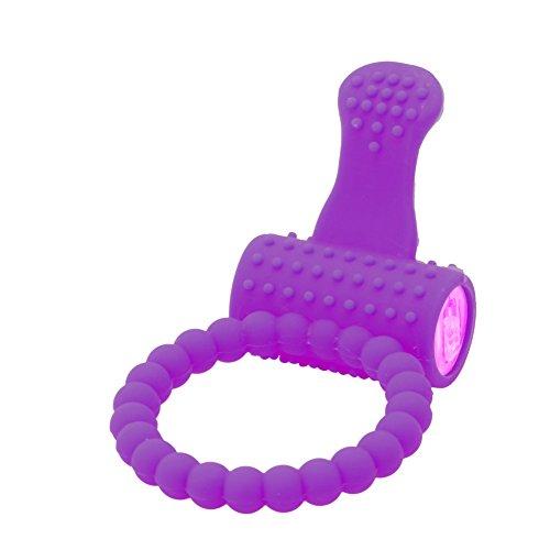 ECMQS Paar-Vibratoren - Schreiend O-Ring Vibrierende Zunge Ring für Frauen & Paare Paare Spiel (Lila)