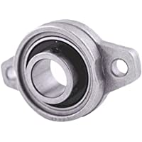 Hrph 2Pcs 8mm diámetro KFL08 Cojinetes de Rhombic de la rueda del cojinete del bloque de la almohadilla Nuevo