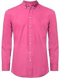 Hackett Camisa Slim Fit Brompton Oxford Rosa