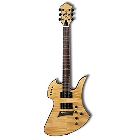 BC Rich Mockingbird Polarity Deluxe in Natural