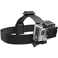 Sabrent GoPro Kopfband Halterung [Kompatibel mit allen GoPro Kameras] (GP-HDST)