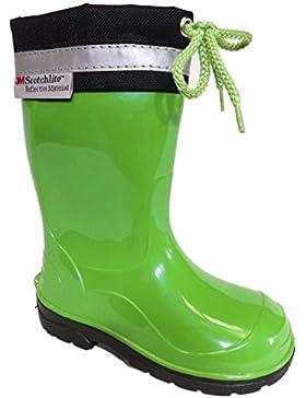 Botas de lluvia o nieve unisex para niños, de la marca Lemigo