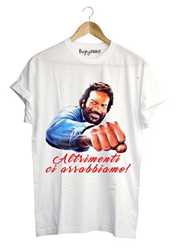 T-shirt uomo Bud Spencer spaghetti western, L