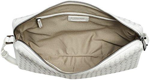 Cinque Cosma Handtasche Mit Rv, Sacs portés main Blanc - Weiß (weiß 5000 5000)
