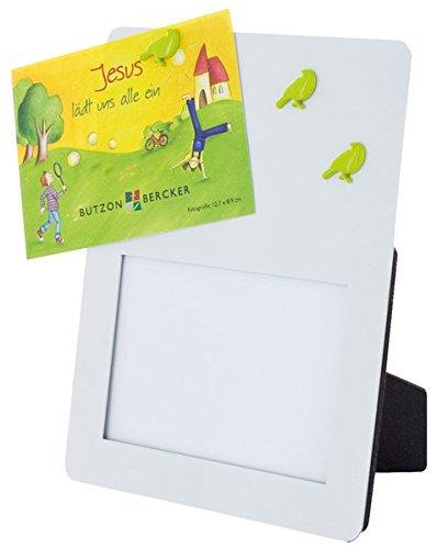Preisvergleich Produktbild Jesus lädt uns alle ein: Bilderrahmen mit Magnet-Pinnwand