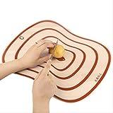 siyao Tagliere Kitchen Chopping Blocks Tool Flexible Transparent Cutting Board Kitchen Pp Cutting Boards Classification Chopping 20X15Cm
