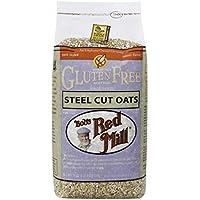 Bob\'s Red Mill, Gluten Free Steel Cut Oats, Whole Grain, 24 oz (680 g)