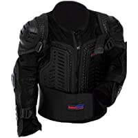 Protectwear, Giacca con protezione Bambino per Motocross, Sci, Snowboard, Nero (schwarz), XXS