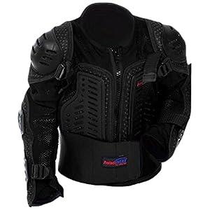 protectWEAR Protektorenhemd, Protektorenjacke Kinder für Motocross, Ski, Snowboard