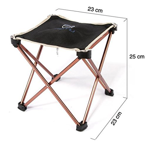 41XxvSkO5pL. SS500  - Portable Folding Camping Chair - Kingwo Outdoor Folding Aluminum Chair Stool Seat Children Chair for Aotu Fishing…