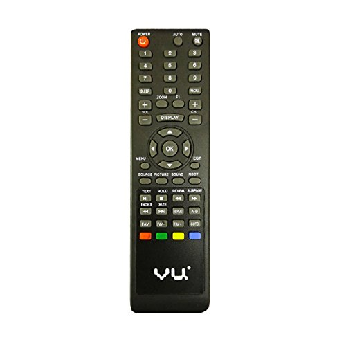 LipiWorld® 83801 LCD LED TV Remote Control Compatible For VU LCD LED TV  available at amazon for Rs.349