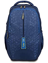Skybags 33 Ltrs Blue 15.4inch Laptop Backpack(BPSPA3BLU)