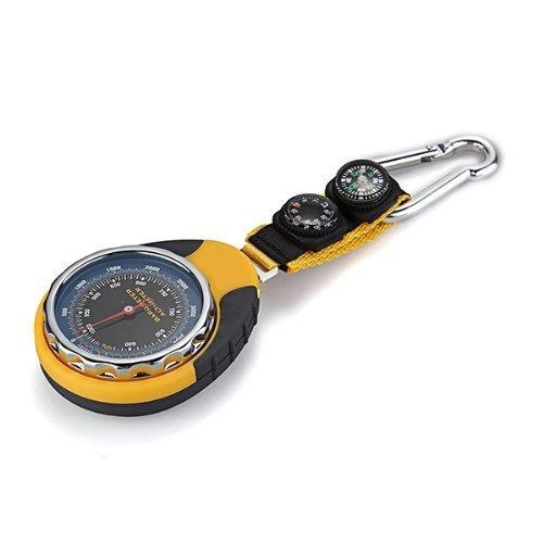 SODIAL(R) Multifunktion 4 in 1 Mechanisch Hoehenmesser Barometer Kompass Thermometer Neu