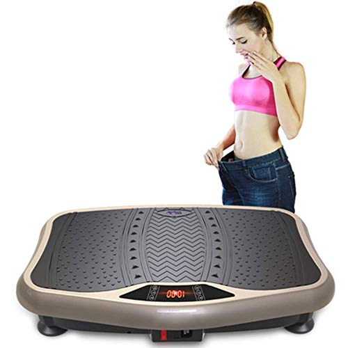 ZAIHW Vibrationsplattform Trainingsmaschine, Fitnessvibrationsplatten, Whole Body Vibration