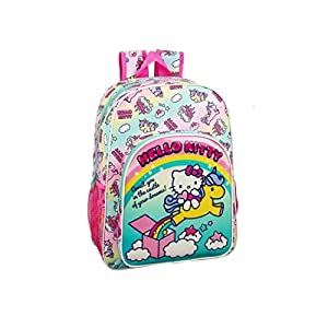 Hello Kitty Candy Unicorns Mochila Grande Adaptable a Carro