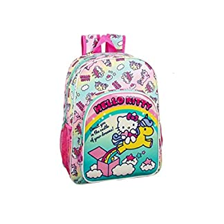 41XxxZ60OoL. SS324  - Hello Kitty Candy Unicorns Mochila Grande Adaptable a Carro
